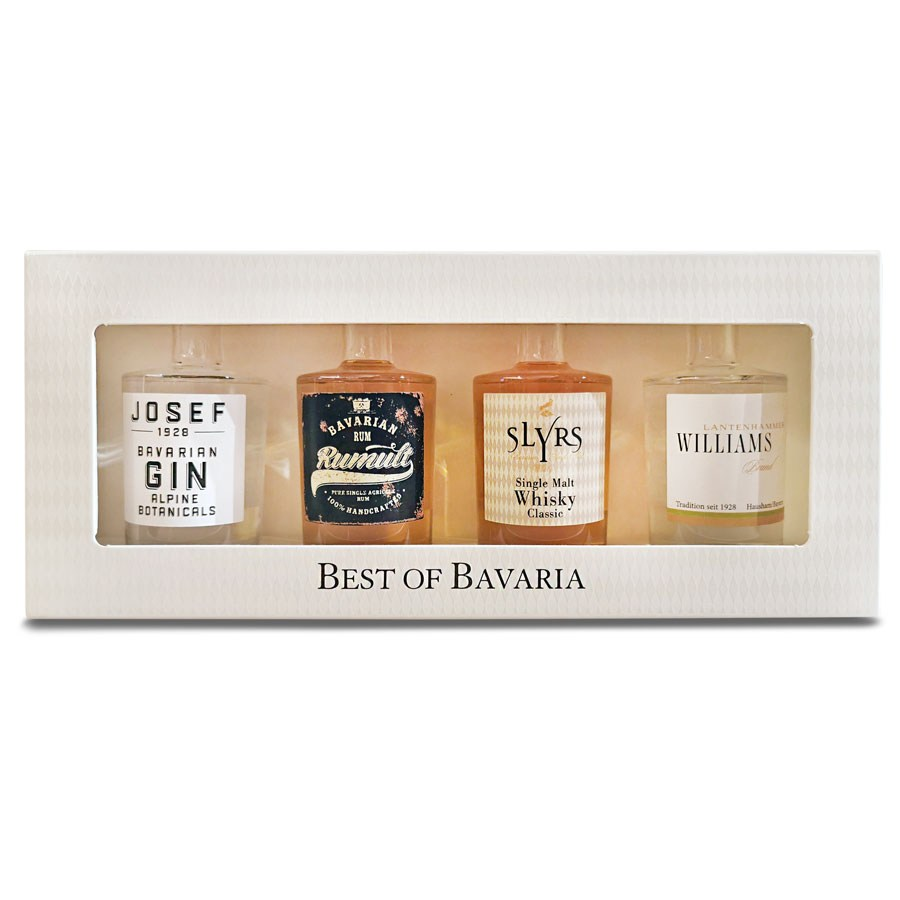 Best of Bavaria Rum, Whisky, Williamsbirne, Gin