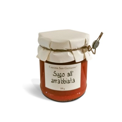 Sugo all arrabiata Cascina San Giovanni